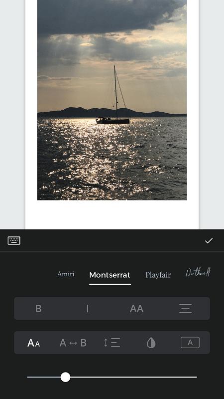 Fold Add text