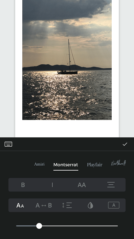 Unfold Add Text