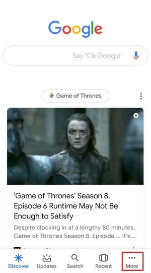 disable ok google