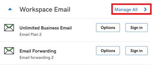 godaddy email forward