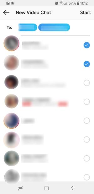 as on Instagram DM