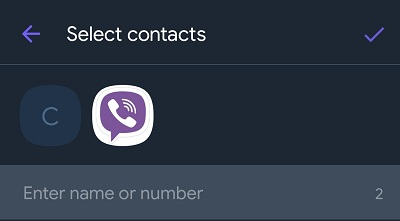 how to block someone Viber