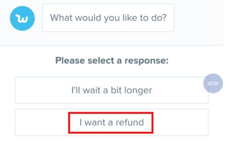 cancel wish order