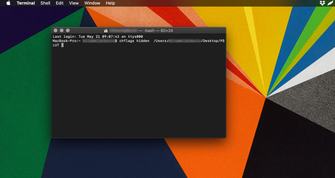 view hidden files in mac