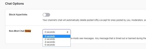 0 seconds