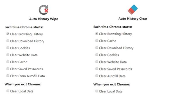 Auto History Wipe