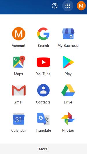 Google App List