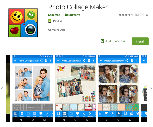 How to make a photo collage