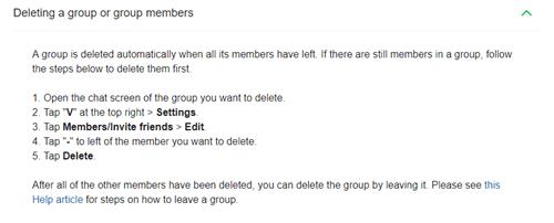 Line App - Wie man jemanden aus einer Gruppe tritt oder bootet