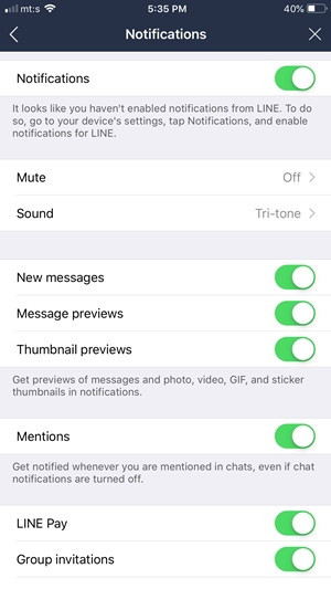 How To Tell If Someone Is Online in the Line Chat App