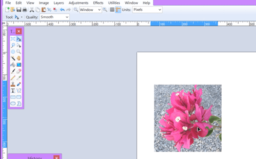 Make Photo Collage in Paint