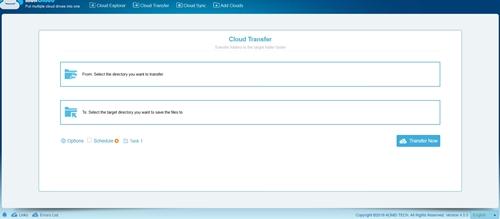 MultCloud - Cloud Transfer