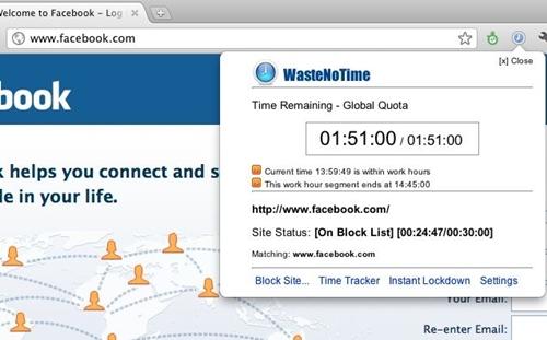WasteNoTime