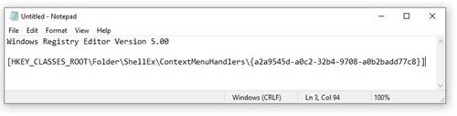 Windows 7 Reg File