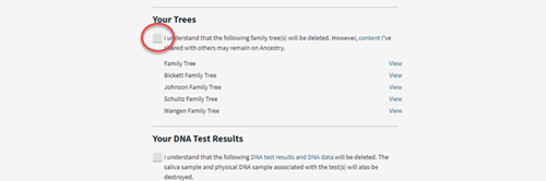 deleting trees