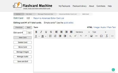 flashcardmachine
