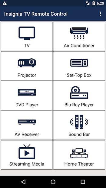 insignia remote control