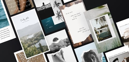 make photo collage as an instagram post