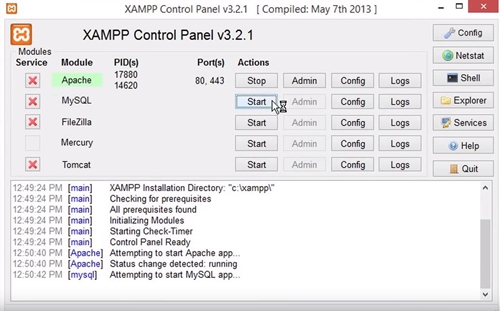 How To Run A Php File In Xampp