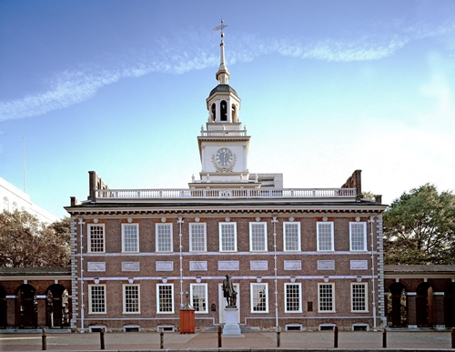 Signatures at the Independence Hall