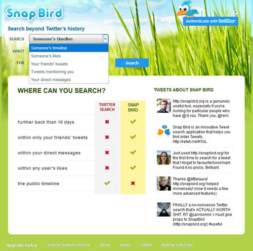 Snap Bird