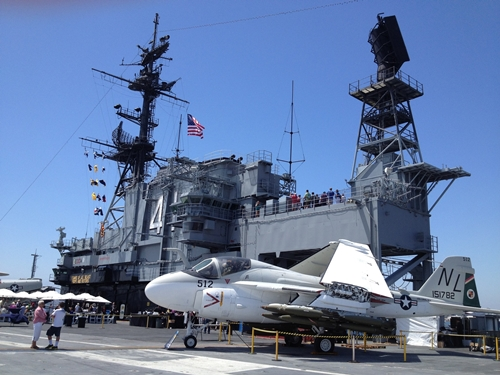 USS Midway Museum Captions