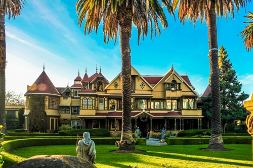 Winchester Mystery House Captions