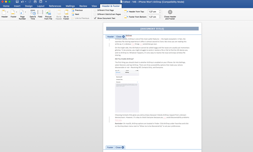 how to make a booklet in word - screenshot 3