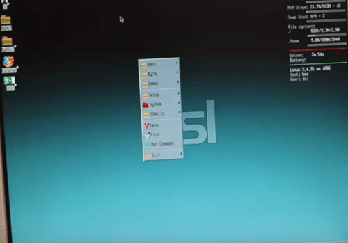small linux