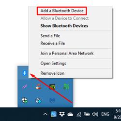 add a bluetooth device
