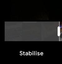 Google Photos Stabilizes