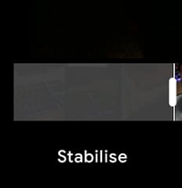 google photos stabilise