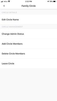 remove circle members