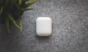 airpods and case