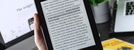 how to make kindle fire font bigger