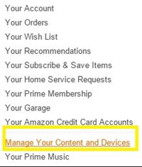 manage your content and devices