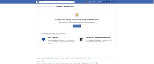 two-factor authentication - personal photo