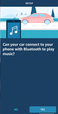 Connect Echo Auto to Car Bluetooth