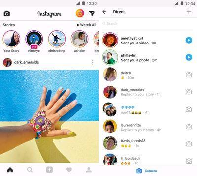 instagram Geschichten