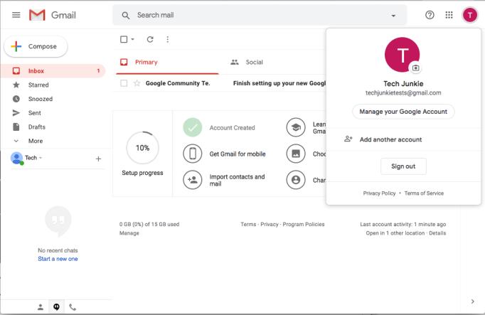 Gmail Delete