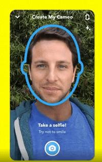 Cameo-Selfie