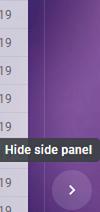 hide side panel