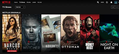 Как изменить язык на Netflix на iPhone