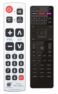 How to Change the Input on a Vizio TV Big button