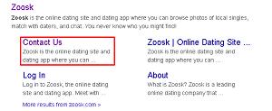 Profile remove zoosk Gateway YWCA