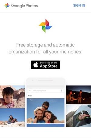 google photo brand someone