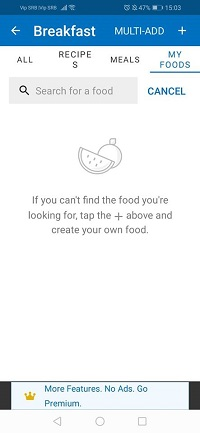 how to add food