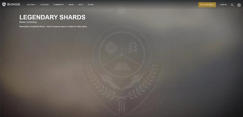legendary shards