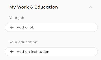 my work and edu
