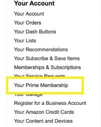 Your main membership